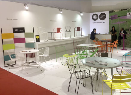 Next iSi mar's stand at Salone de Mobile Milano