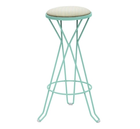 MADRID upholstered counter stool