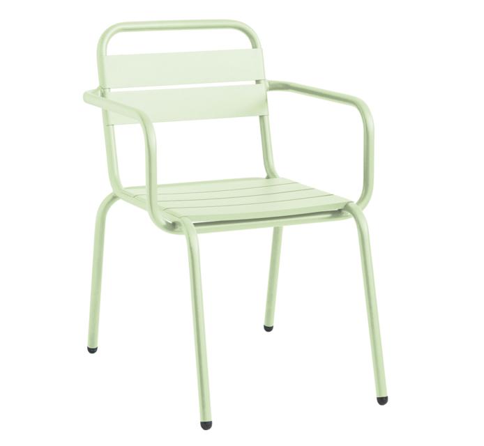 BARCELONETA sillón de 4 lamas