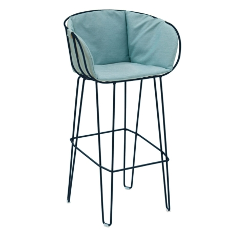 OLIVO upholstered bar stool