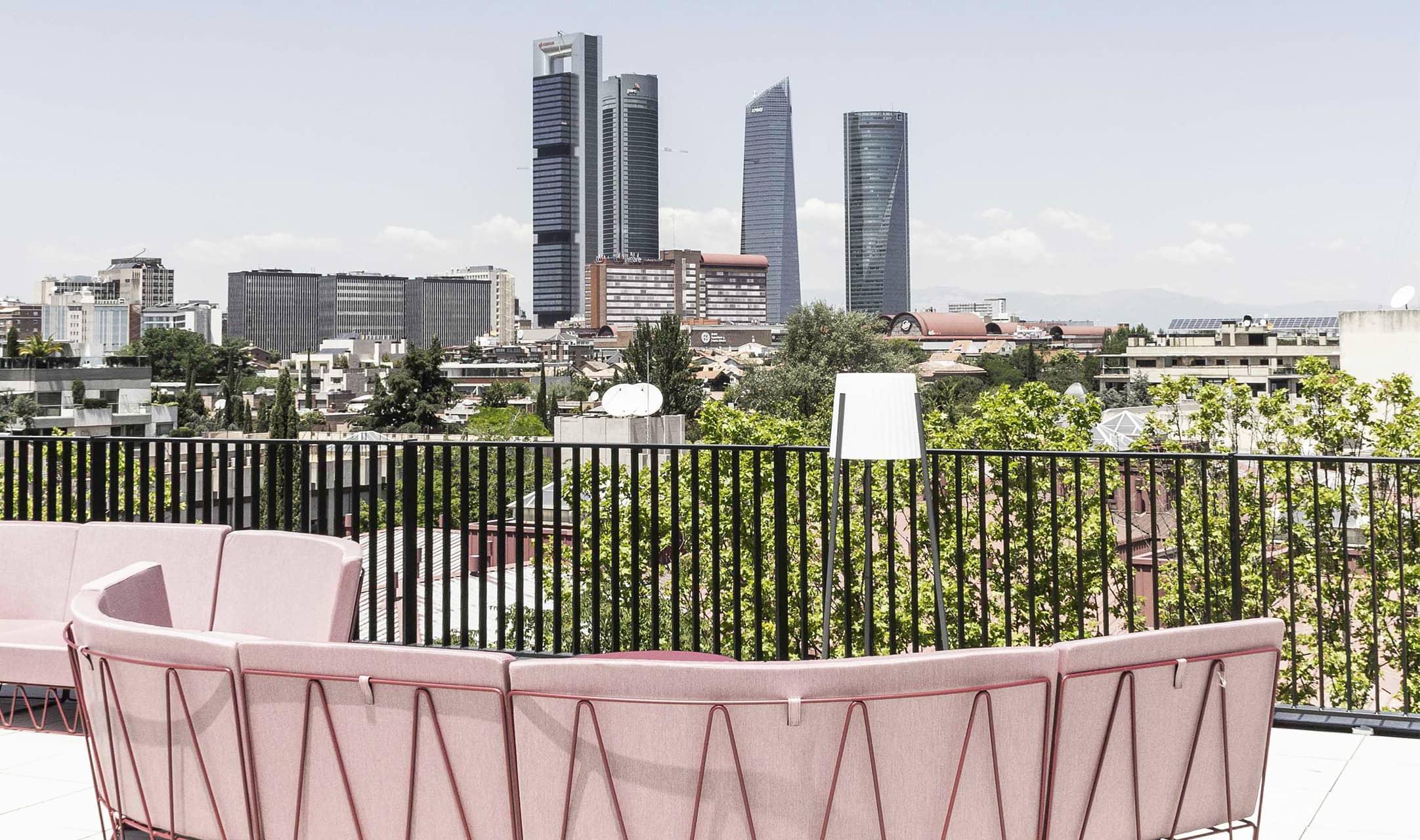 Madrid Bcome paseo de la Habana