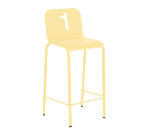 NUMBER counter stool